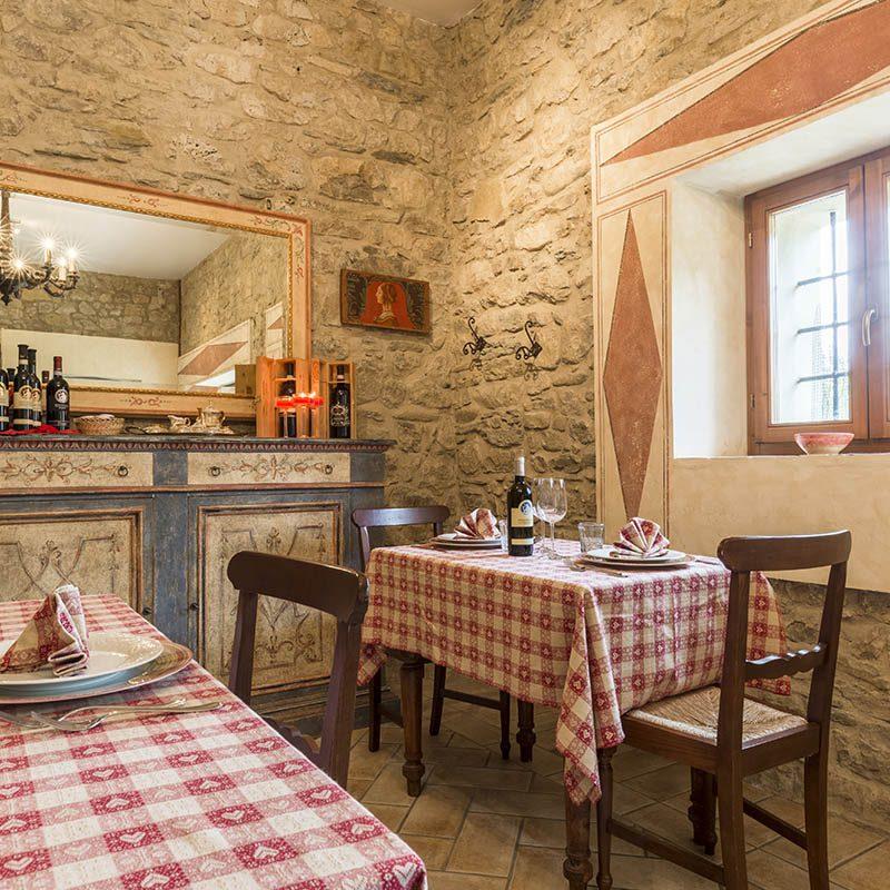 Ristorante cucina tipica umbra tra Foligno e Assisi