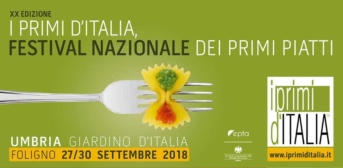 Festival dei Primi d' Italia 2018 a Foligno