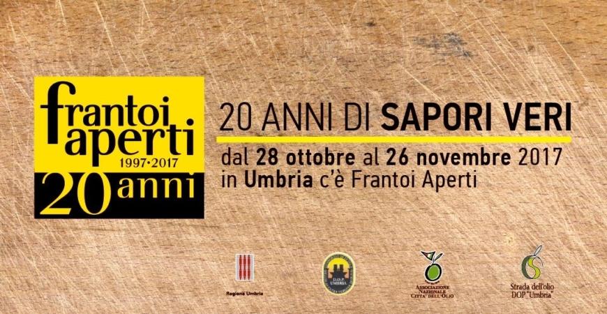 Frantoi Aperti 2017 fra le città d'Arte di Foligno, Spello, Trevi